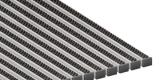 Грязезащитные алюминиевые решетки