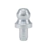Гидравлические пресс-масленки H1 A, 180°, по DIN 71 412, круглые, закаленные, оцинкованные, заколачиваемые