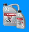 Всесезонное легкотекучее синтетическое трансмиссионное масло SUPREMA TOPGEAR 75W-90 HC